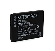 695mAh DMW-BCH7E Camera Battery Pack for  Panasonic  DMC-FP1   DMC-FP1A  DMC-FP1EB-A  DMC-FP1EB-D
