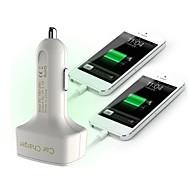 multifunktionale Kfz-Ladeanzeige Spannung / Ampere und Temperatur / zwei USB-Anschluss 12v 3.1a Auto-Ladegerät