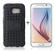 Teléfono Móvil Samsung - Fundas con Soporte - Diseño Especial - para Samsung Samsung Galaxy S6 Plástico/TPU)