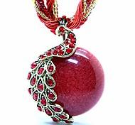 Modische Halsketten Medaillons Halsketten / Stränge Halsketten / Weinlese-Halsketten / Anhänger / Statement Ketten SchmuckHochzeit /