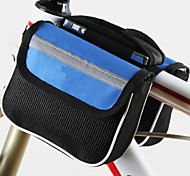 Cycling Bicycle Front Frame Bag with Rain Cover