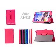 """Iconia Tab acer 7 a1-713hd caso tablet casi con casi stand / corpo pieno 7 """"per i colori solidi asus (colori assortiti)"""