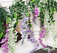 Soie Violet Fleurs artificielles