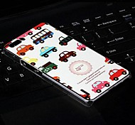 Fashion Painted Car PC Back Cover for Huawei Honor 6 Plus