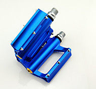 Cycling Aluminium Alloy Convenient Solid Pedals with muilti colour