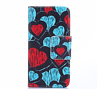Heart-shaped Painting Phone Case for Samsung Galaxy J1