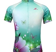 Jesocycling® Women's Spring And Summer Polyester Breathable Short Sleeve Cycling Jersey