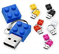 New Toy Bricks Cartoon USB 2.0 Flash Memory Pen Drive High  16GB