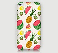 iPhone 4/4S/iPhone 4 - Cover-Rückseite - Grafisches Design/Spezielles Design/Neuartig/Frucht-Muster ( Mehrfarbig , Kunststoff )