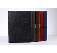 Fundas Traseras ( Cuero PU , Colores Surtidos ) - de Color Puro/Diseño Especial para Manzana iPad Air 2