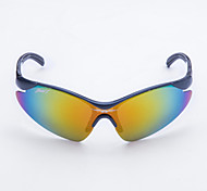 Cycling Kids' Anti-Wind Plastic Wrap Fashion Sports Glasses