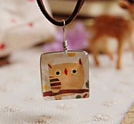 Fashion New Cute Owl Long Necklace