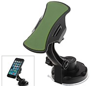 360 Degree Rotation Holder Mount with H17 Suction Cup and C71 Paste Back Clamp for iPhone 4/4S/5 and Others