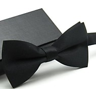 Men's Party Solid Bow Tie