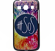 SOS Pattern Pc Hard Back Cover Case for Samsung G530