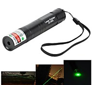 Marsing High Power Muliti-function 850 5mW 532nm Green Laser Pen Flashlight - Black
