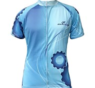 Jesocycling®Men's Spring And Autumn Polyester Short Sleeve Cycling Jersey