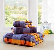 Набор банных полотенец Как на фотографии,Жаккард Высокое качество 100% хлопок Полотенце