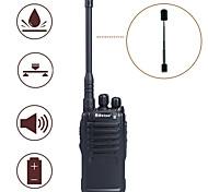 Baiston BST-3200 5W 16-CH 400~470MHz Professional Walkie Talkie w/ Flashlight, VOX - Black