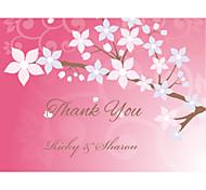 Personalizado - Dankeschönkarte Papel decorado Rosa