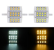 1pcs R7S 10W SMD 5730 576LM 2800-3500/6000-6500K Warm White/Cool White Corn Bulbs AC 220V