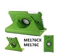 """asus memo pad 7 me176cx caso casos tablet com casos stand / corpo inteiro de 7 """"para Asus cores sólidas (cores sortidas)"""