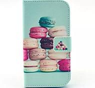 Samsung Handy - Samsung Galaxy Core Plus G350 - Hüllen (Full Body)/Hüllen mit Ständer - Grafik/Spezielles Design ( Multi-color , PU Leder )