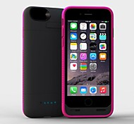 MFI 3200mAh Lightning Connector Power Bank Backup Case with Stand for iPhone 6(Assorted Colors)