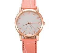 Women's Circular Love Fashion Belt Watch(Assorted Colors)