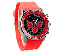 Women's Sports Leisure Watches Silicone Strap