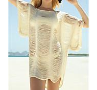 Women's Fashion Tassels Swimsuit Swimwear Bikini Dress Beach Cover Up