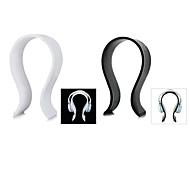 de haute qualité en forme de U acrylique casque / oreillette stand de support de suspension - noir
