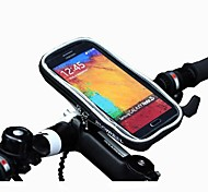 ROSWHEEL Cycling Bike Bicycle Protective Handlebar Bag Pouch Transparent PVC Touchable for 5.5 Cellphone