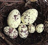 Artificial Bird's Eggs Made of Foam (More Sizes)