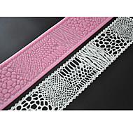 tappetino della decorazione del merletto di silicone tappetino per la torta fondente