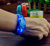 1 Piece Led Sound/Voice Activated Flashing Bracelet for Party Club Concert