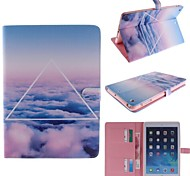 Only Beautiful Cloud Design PU Leather Full Body Case for iPad Air