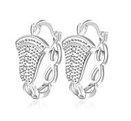 Women's Gorgeous Unique 925 Silver Plated Earrings