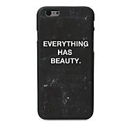 каждая вещь имеет красота конструкция ПК Футляр для iPhone 5с