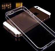 iPhone 4/4S/iPhone 4 - Cover-Rückseite - Transparent ( Weiß/Grün/Rose/Gold , TPU/Kunststoff )