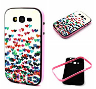 Little Love Pattern TPU Back Cover with PC Bumper Shockproof Soft Case for Samsung Galaxy  Grand  I9082