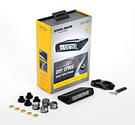 Steelmate DIY TPMS TP-S1 Solar Energy Chargeable LCD Wireless Display with External Sensor Tire Pressure Monitoring