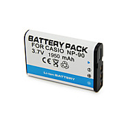 1950mAh Cnp-90/Cnp90 Camera Battery Pack for  Casio 	Exilim EX-H15 EX-H20G   EX-FH100,