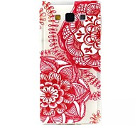 Relief Painting China Paper-Cut Pattern 0.2 Slim TPU Protective Shell for Samsung Galaxy A5