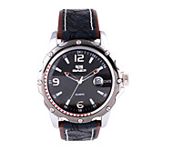 Men's sports Watch Genuine Leather Strap