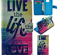 GYM Free Life Pattern Full Body Case for Samsung Galaxy S6 G9200