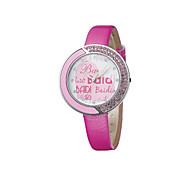 affascinante orologio da polso del diamante delle donne