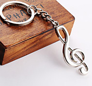 Music Notation Key Chain