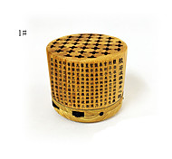 Genuine Bamboo Wood Bluetooth Portable Speaker Compatible with All Bluetooth iOS Devices & Andriod System