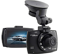 CAR DVD - 2560 x 1920 - con 5.0 MP CMOS - para Full HD/Salida de vídeo/G-Sensor/Gran Angular/720P/1080P/HD/Anti golpe/Foto fija Captura
